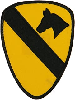 US Army Military Large Patch - 1st Cavalry W03S12F