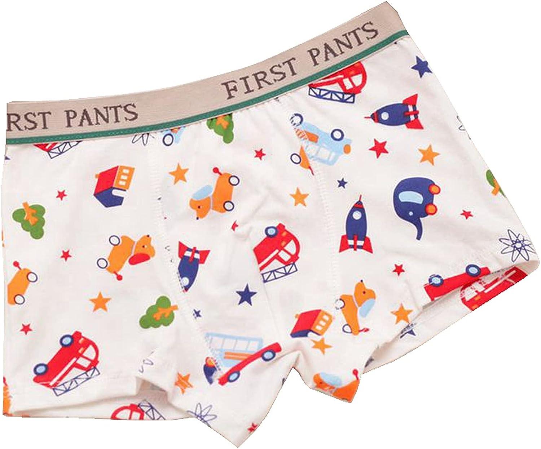 MJL Boys Underwear Boys Boxer Briefs Cotton for Boys 2 - 10T