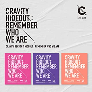 Starship Entertainment CRAVITY - CRAVITY SEASON1.[Hideout: Remember WHO WE are] Album+Pre-Order Benefit+Folded Poster (1 v...
