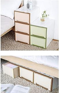 MU Bois Solide de boîte de Rangement portative de ménage, nécessités Quotidiennes de tiroir épais en Plastique de ménage
