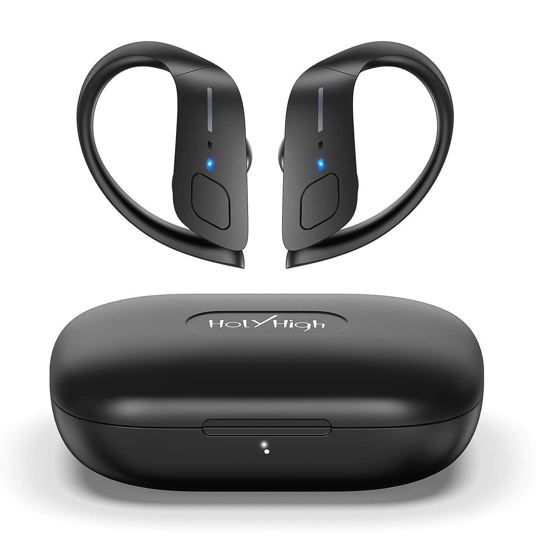 HolyHigh Headphones Bluetooth Earphones Waterproof