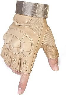 MXECO Guanti Tattici Esercito Militare Paintball Airsoft Sport allAria Aperta Tiro con la Polizia Carbon Hard Knuckle Full Finger Gloves