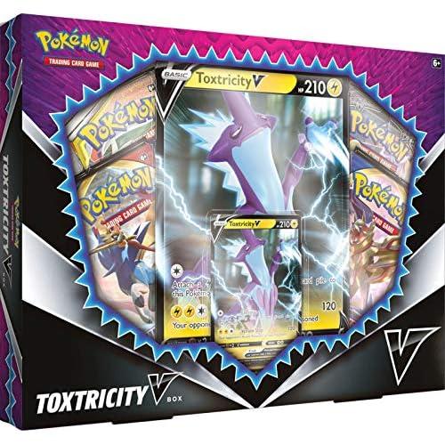 Pokémon POK80679 TCG: Toxtricity V Box Carte, Multicolore