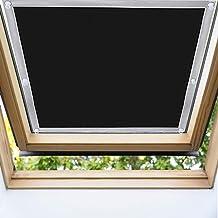 EXTSUD Cortina para Ventanas de Techo, Cortina contra Sol para Ventanas de Techo Cortinas Opacas Portátiles con Ventosas, 96 x 120cm