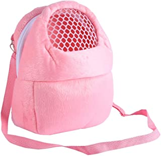 Pet Carrier Bag Pet Sling Carrier Backpack Portable Travel Backpack Breathable Outgoing Bag bonding Pouch for Small Pets Hedgehog Hamsters Sugar Glider Chinchilla Guinea Pig