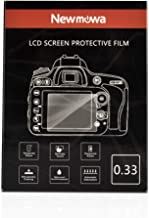 Newmowa Screen Protector for Canon M3 M5 M10 G1X2 EOS R, 9H Hardness Waterproof Anti-Scratch Anti-Fingerprint Tempered Glass Screen Protector for DSLR Camera