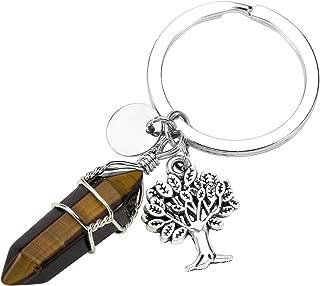 Jovivi Llavero con Colgante de árbol de la Vida de Plata ...