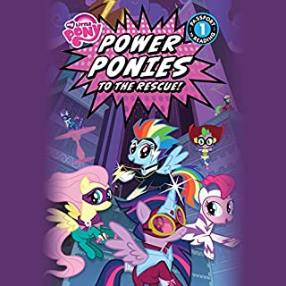 My Little Pony: Power Ponies to the Rescue! audiobook cover art