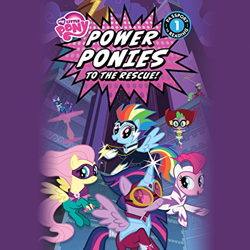 My Little Pony: Power Ponies to the Rescue! cover art
