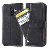 Asuwish Galaxy A6 Plus 2018/J8 2018 Wallet Case,Luxury Leather...
