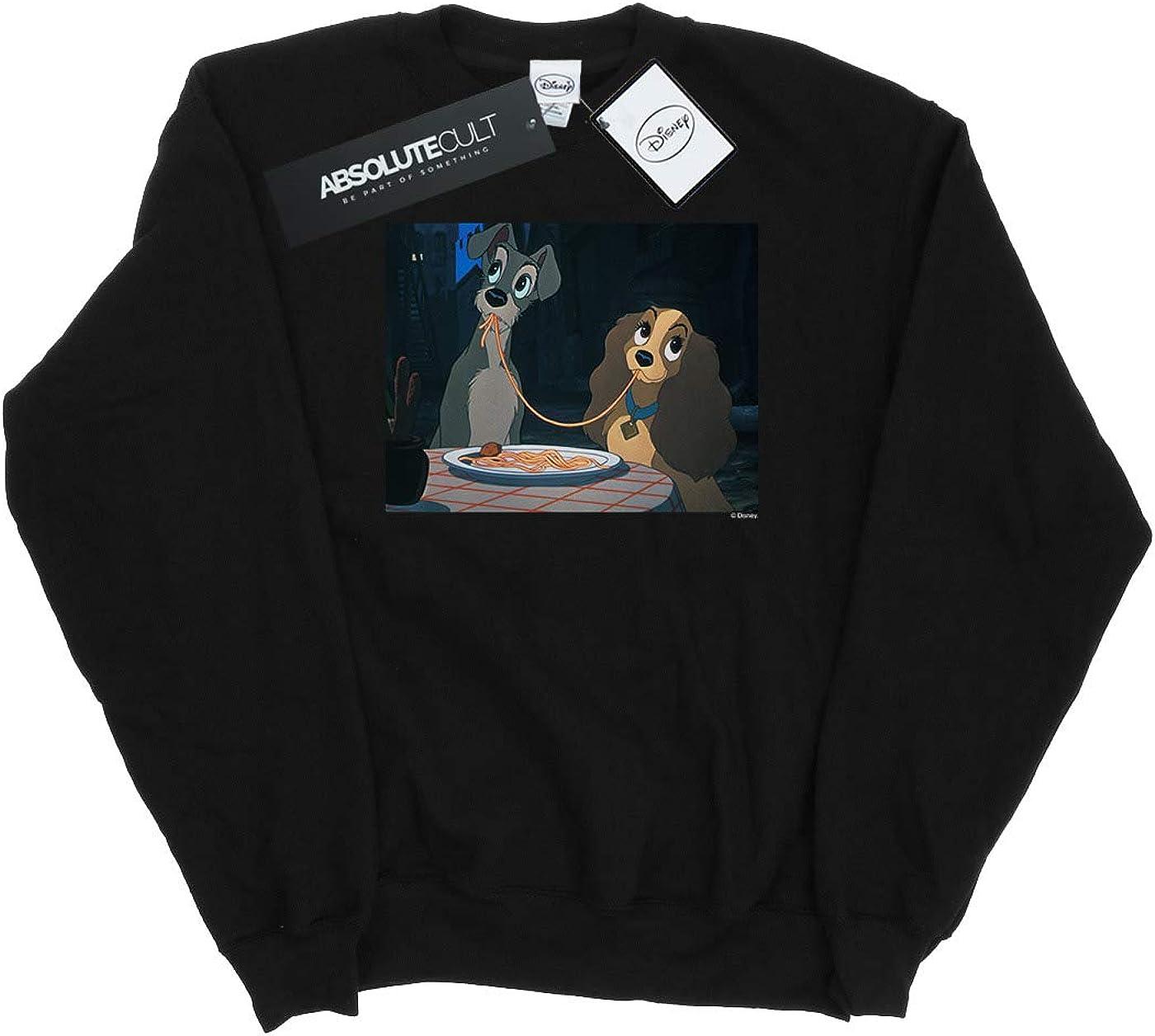 Disney Girls Lady and The Tramp Spaghetti Slurp Sweatshirt