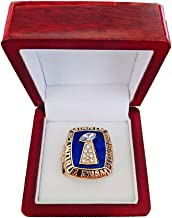 Gloral HIF New York Giants Championship Ring Super Bowl 1986 Ring Replica Lawrence Taylor with Display Wooden Box