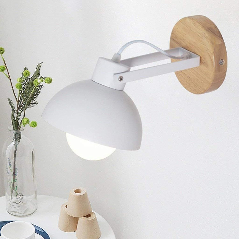 Gorkuor Tischlampe Moderne Schlafzimmer Wohnzimmer Nachttischlampe Gang Eisen Eingangshalle Korridor Einfache Deckenleuchte Originalität (Farbe  Weiß) B07JQP3SW6       Marke