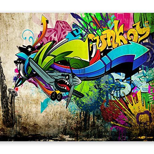 murando Carta da parati 400x280 cm Fotomurali in TNT Murale alla moda Decorazione da Muro XXL Poster...