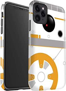 eSwish Gloss Tough Shock Proof Phone Case for Apple iPhone 11 Pro/BB Droid Art Inspired Design/Cute Sci-Fi Faces Collection