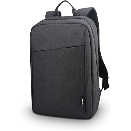 Lenovo Laptop Backpack B210, 15.6-Inch Laptop and Tablet, Durable, Water-Repellent, Lightweight, Clean Design, Sleek for Travel, Business Casual or College, for Men or Women, GX40Q17225, Black Casual Backpack- Black