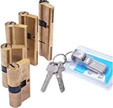 Deur vatslot Deurcilinder bevooroordeeld slot 65 70 80 90 115mm cilinder AB sleutel anti-diefstal ingang messing deurslot ...