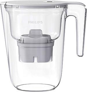 Philips Micro X-Clean Carafe filtrante 2.6L Blanche
