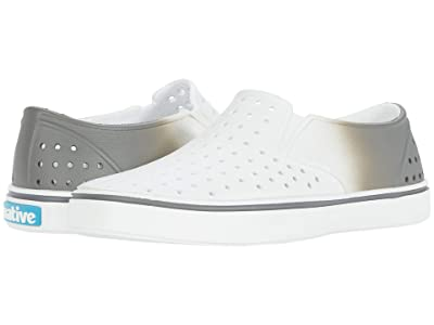 Native Kids Shoes Miles Ombre (Little Kid/Big Kid) (Shell White/Shell White/Dublin Ombre) Boy