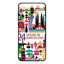 Huawei Mate 10 Lite Case Cover 24 Hours in Barcelona