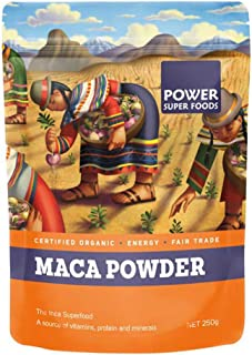 Power Superfoods Organic Maca Powder, 250g