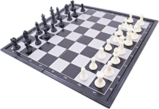 Jogo De Xadrez Com Tabuleiro Dobrável A Ímã 33X33cm
