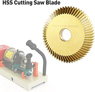 Zhanwang17 HSS Cutting Saw Blade - 60616mm Key Cutting Blade for All Horizontal Key Machine Disk Cutter Locksmith Tool