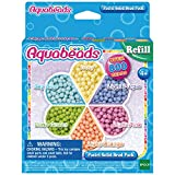 Aquabeads- Pack de Abalorios Pastel, Color carbón (Epoch 31360)