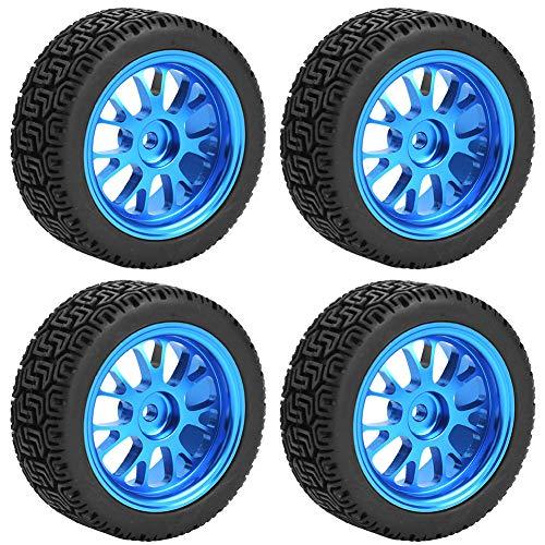 Neumáticos de Coche 1/18, neumáticos de Coche RC de plástico Duro, para Modelo de Coche WL A959 A979 A969 1/18