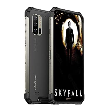 Ulefone Armor 7E(2020 Rugged Phones Unlocked, 4G Rugged Cell Phones Waterproof Android 9.0 6.3'' FHD,4GB+128GB 48MP+2MP+2MP+16MP Camera,5500Mah Wireless Charge, Face ID, Dual Sim Rugged Smartphone