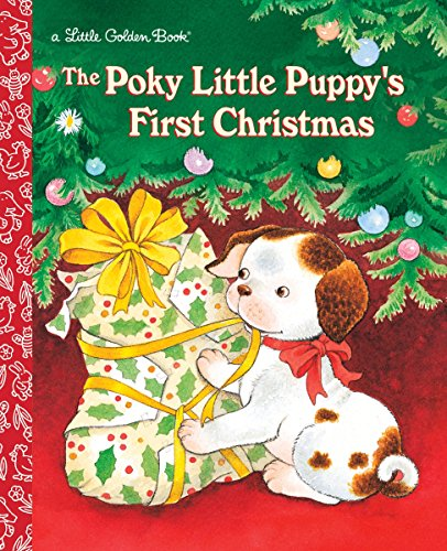 Little Golden Books: The Poky Little Puppy's First Christmas Hardcover Book $2.50 & More