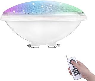 COOLWEST RGB Luces de la piscina LED 36W PAR56 Iluminación de piscinas con Control Remoto 12V Luminarias subacuáticas IP68 impermeables, Reemplazar bombillas halógenas de 250W