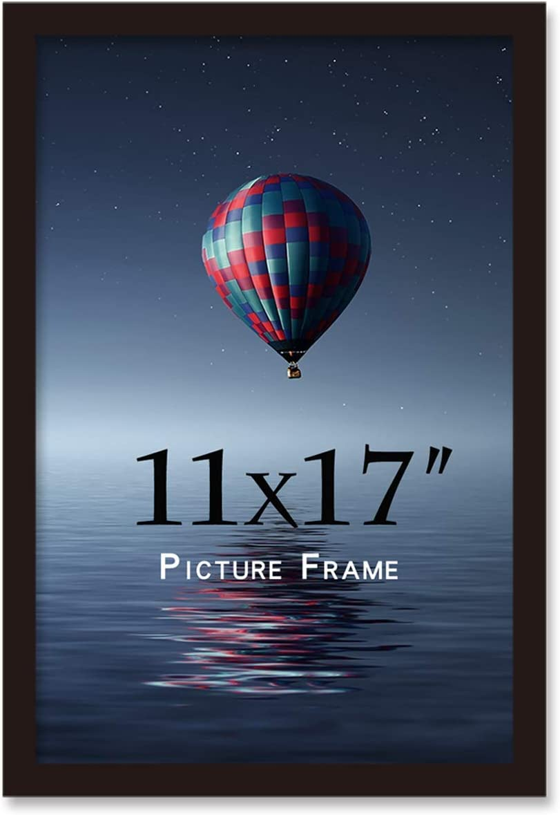 Attention brand 11x17inch Picture Frame Solid Max 86% OFF Wood Wall certificate pos Mounting
