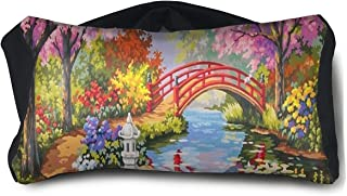 Eye Pillow Flower Garden Spring Inspiring Mens Portable Blindfold Sleeping Eye Bag Patch
