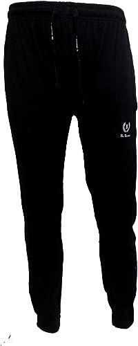920 be board Pantalone Uomo Lungo Sportivo in Cotone con Elastico alle Caviglie Art