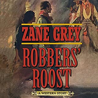 Robbers' Roost audiobook cover art