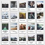 Set de 20 tarjetas postales'Viaje' con frases de viajar en el diseño polaroid de INDIVIDUAL NOMAD