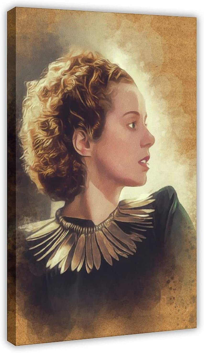 Classic Free shipping anywhere in the nation Elsa Lanchester Celebrity Wal Poster Canvas Rapid rise Retro