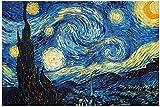 Rompecabezas Adultos 1000 Piezas, Puzzles Encajables 700mm x 500mm - Noche Estrellada