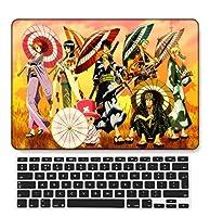 FULY-CASE プラスチックウルトラスリムライトハードシェルケース対応のあるMacBook Pro 15インチRetinaディスプレイCD-ROMなしUSキーボードカバー A1398 (漫画シリーズ A 71)