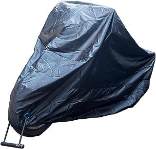 バイクカバー 高品質 300D 厚手 防水 紫外線防止 防風 盗難防止 防雪 XXL オートバイカバー 車体カバー HID屋