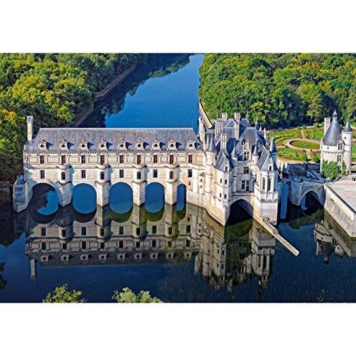 alles-meine.de GmbH Puzzle 500 Teile -  Château of Chenonceau  - Frankreich Wasserschloss Park - Chenonceaux - Indre et Loire - Medici - Cher - Centre-Val - Foto Wassermühle - ..