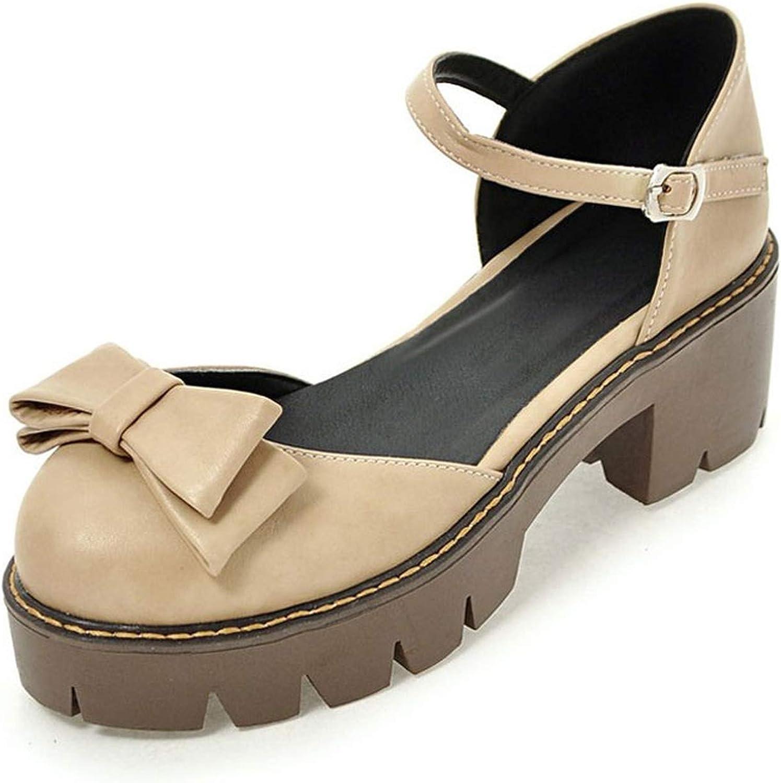 Women High Heels Platform Sandals Cut-Out Gladiator Sandals Women Thick Heel Women Summer Sandals Platform Lolita shoes
