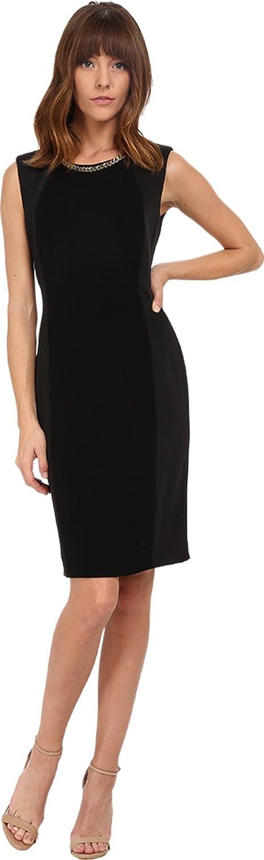 Tahari by ASL Women's Dave - Q Dress Black Dress 12