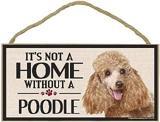Imagine This Wood Sign for Poodle Dog Breeds