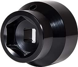 Yoursme 6.0L / 6.4L Powerstroke Diesel Fuel Filter/Oil Filter Flip Socket Black Fits 2003-2010 Ford Trucks