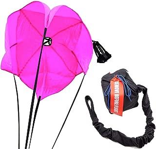 Racerdirect.net Drag Parachute Spring Loaded Florescent Pink Drag Racing Chute
