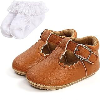 Sehfupoye Babyschoenen, antislip, eerste loopschoenen, baby, jongens, meisjes, prinses, zachte zool, schoenen voor all-pet...