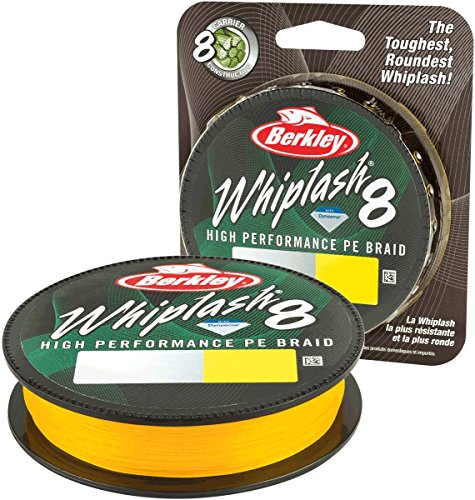 Berkley Whiplash 8 Yellow 150m ; 0,06 mm