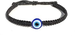 The Bling Stores Evil Eye Adjustable Bracelets for Protection against Buri Nazar and Negativity for Men and Women.
